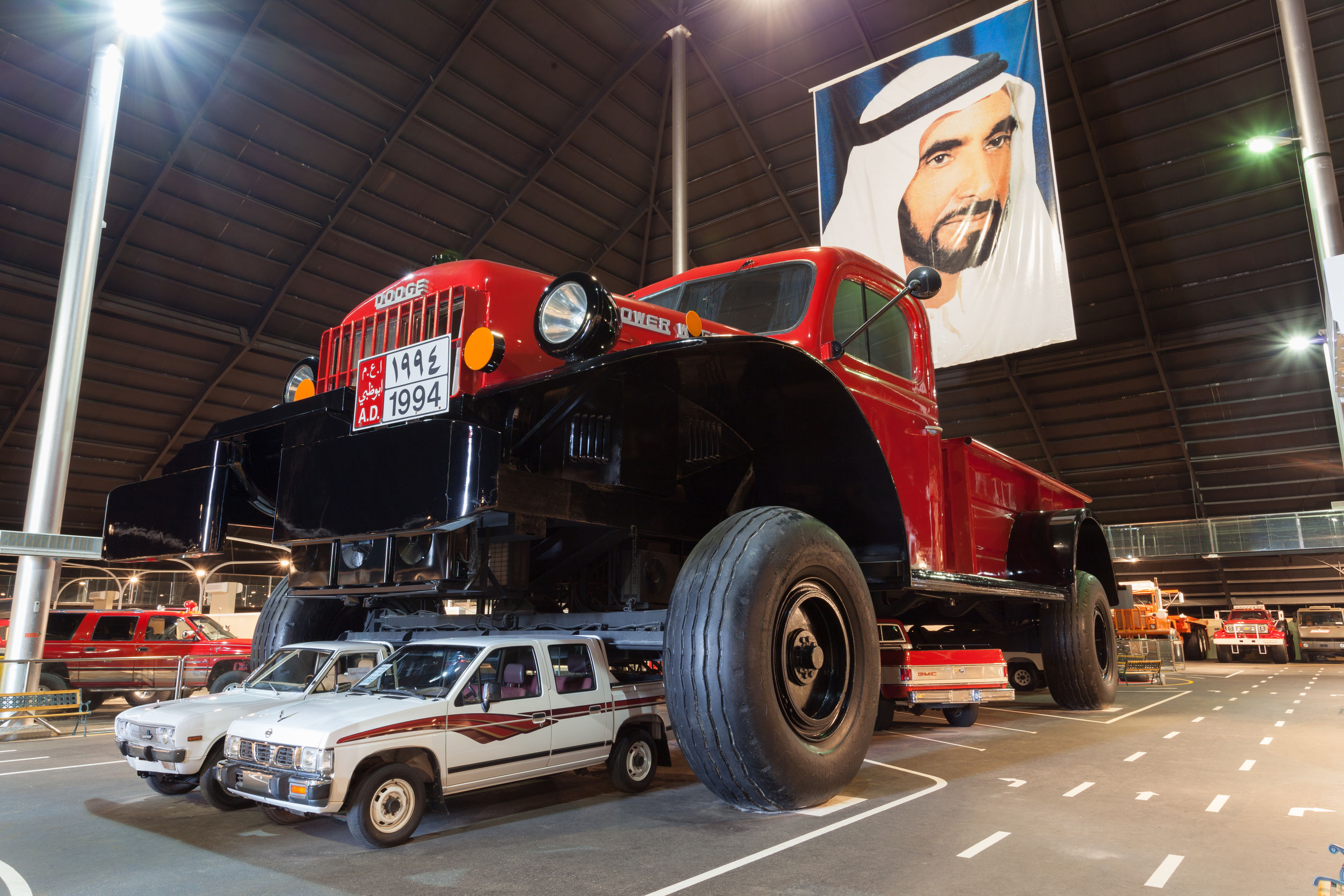 Emirates national auto museum for Appoggiarsi all aggiunta al garage