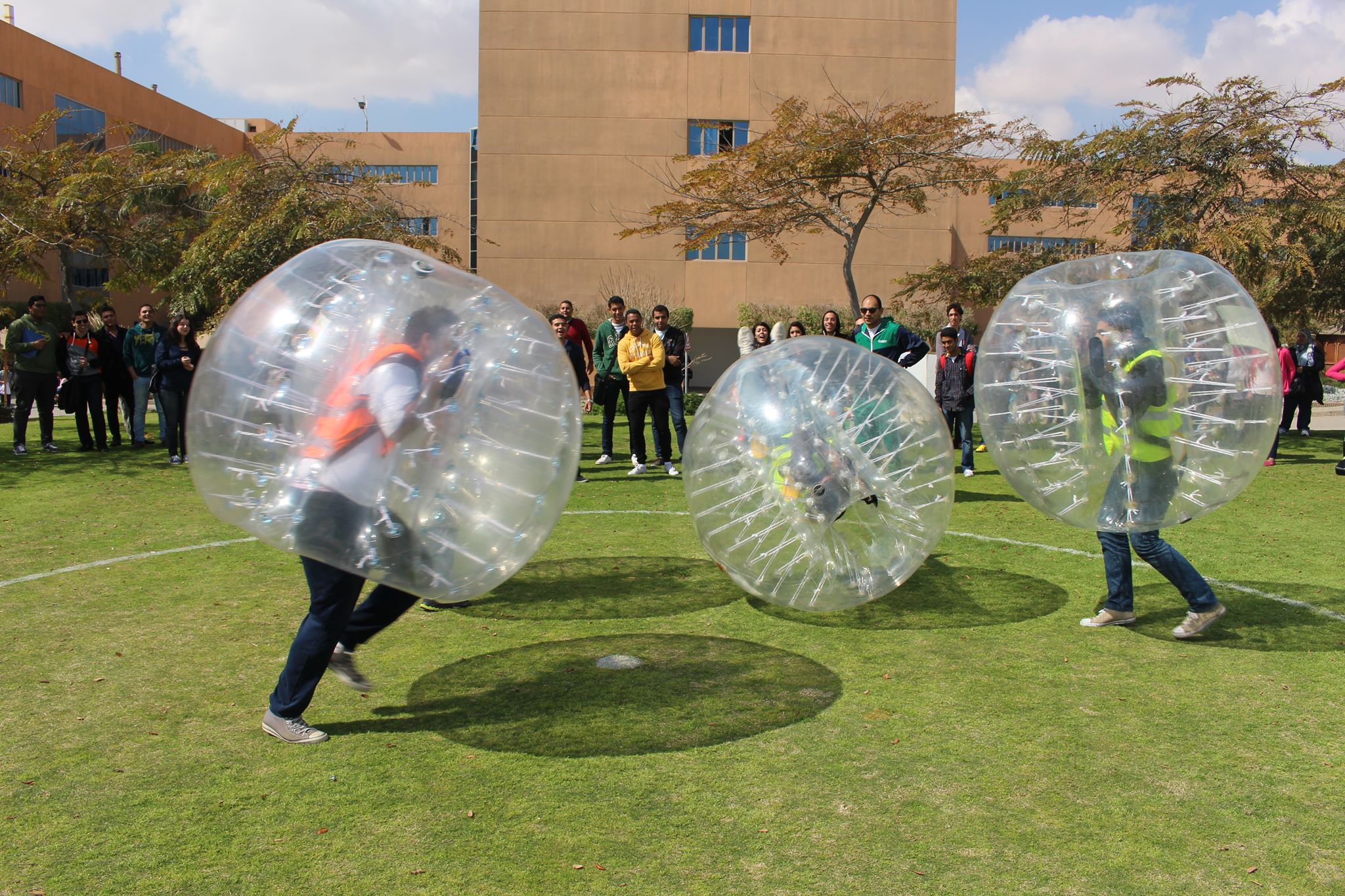 Bubble Football - Sheraton