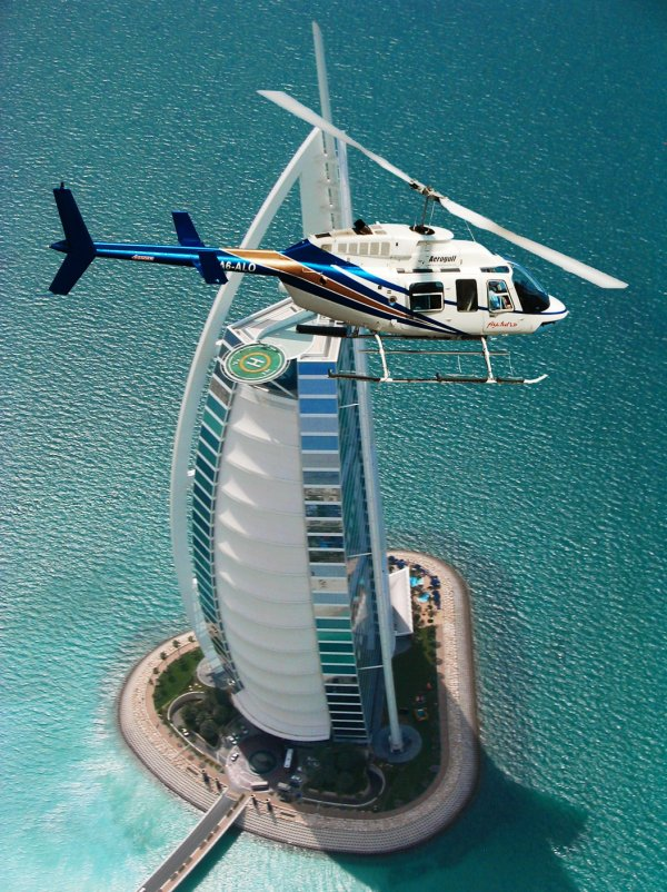HeliDubai - جولة هليكوبتر دبى Helicopter Tour