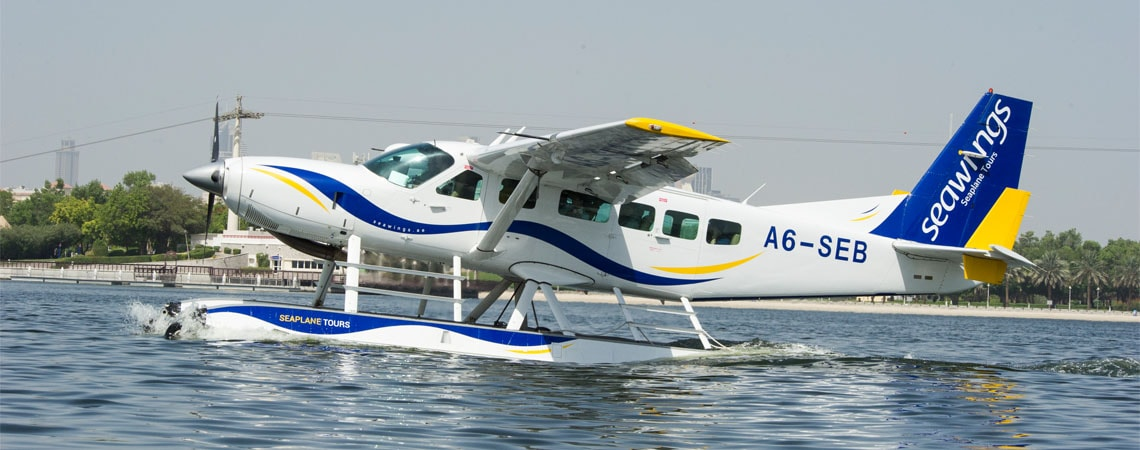 Seawings Dubai (Seaplane Tour)
