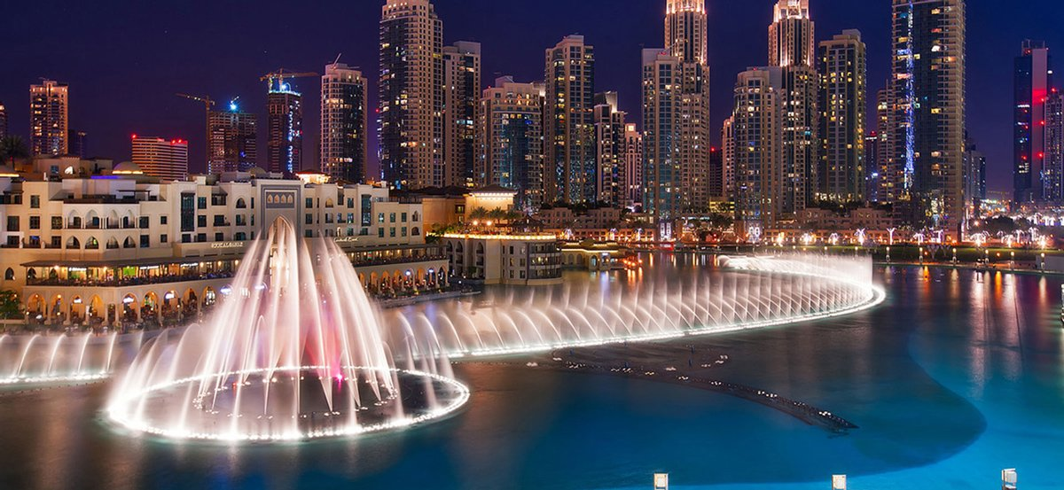 The Dubai Fountain (نافورة دبي)