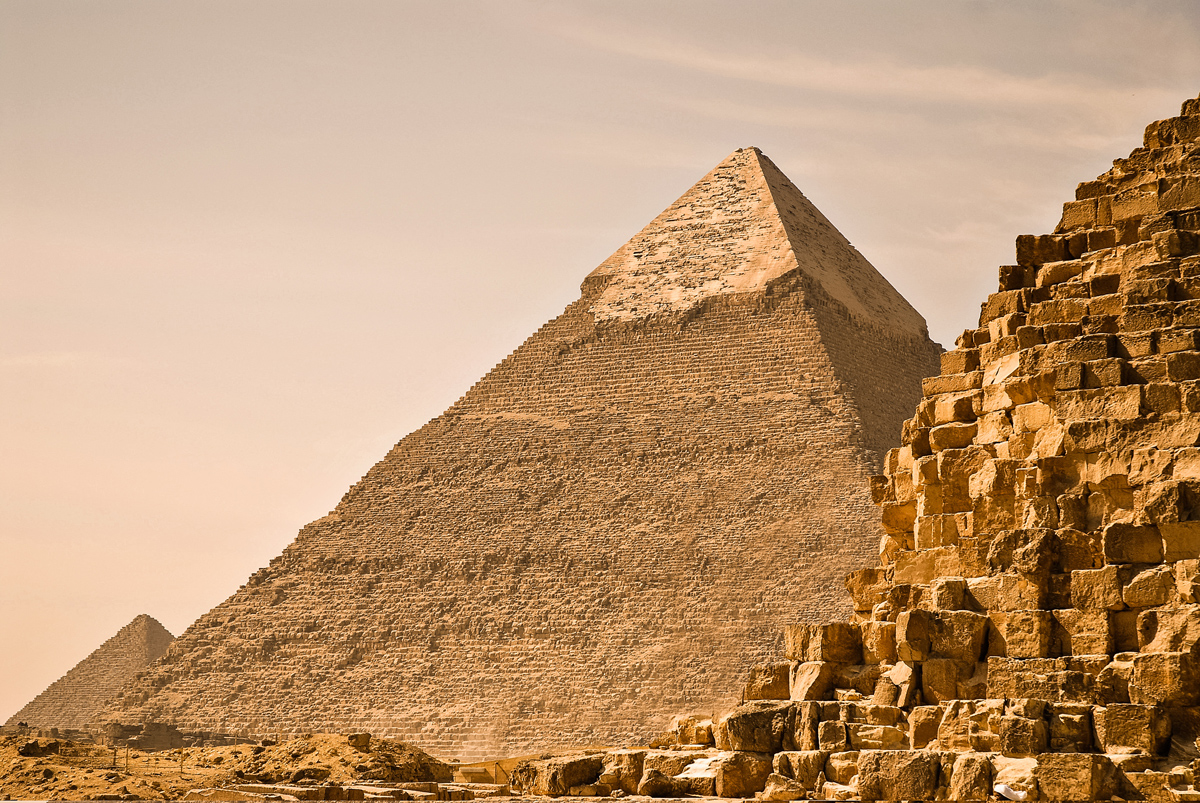 Great Pyramids of Giza - اهرامات الجيزه