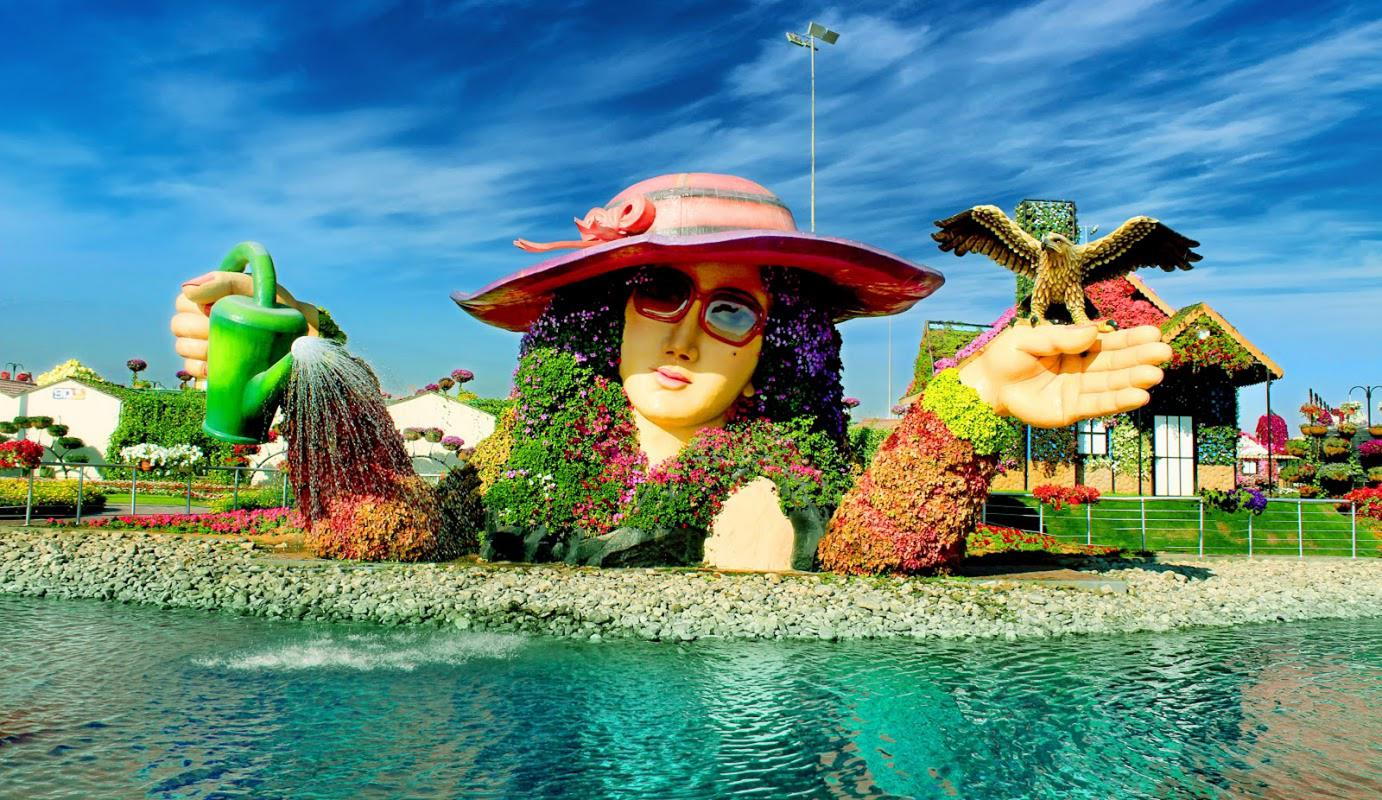Image result for miracle garden dubai 2018
